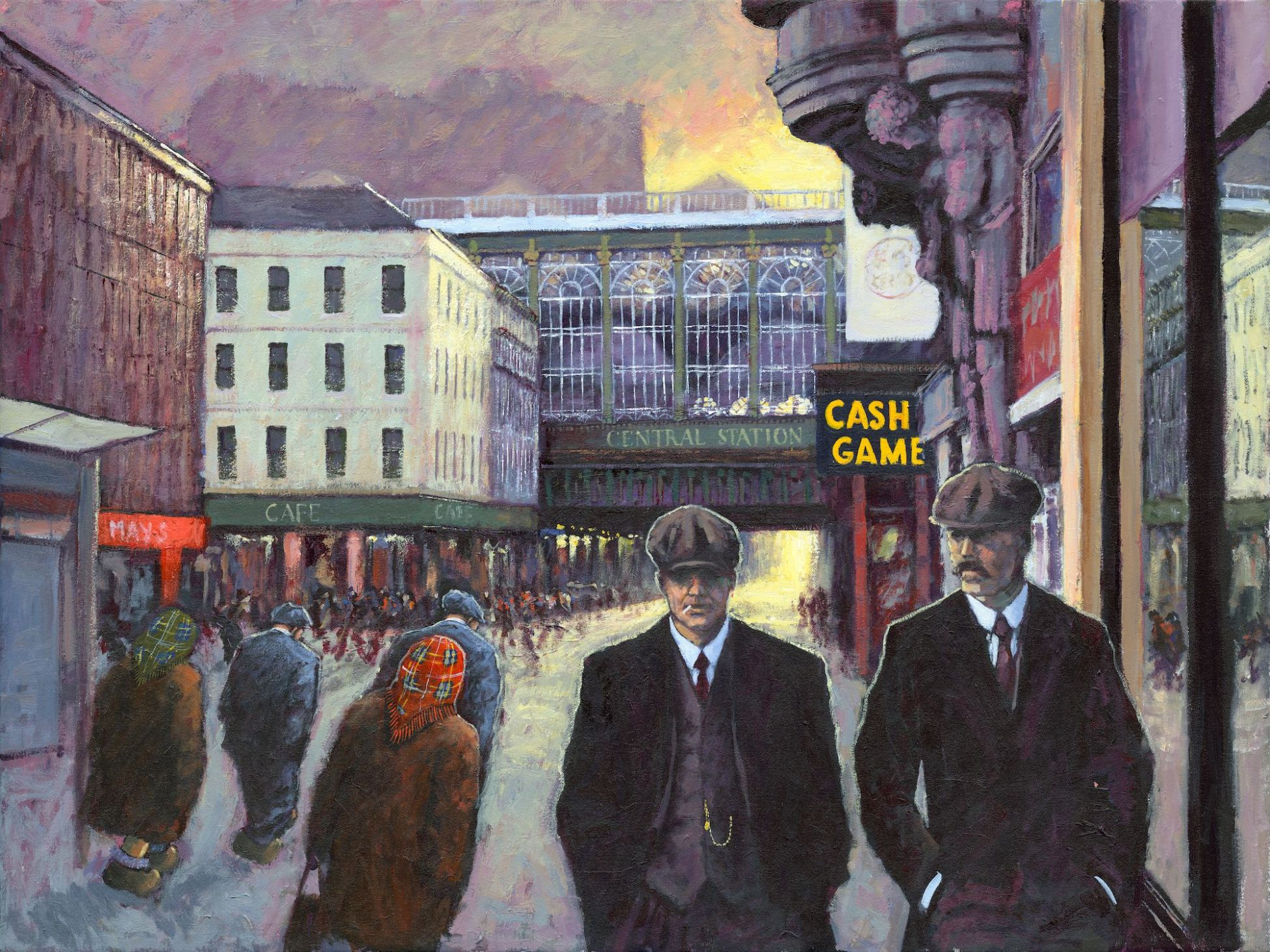 The Boys Are Back in Town by Alexander Millar