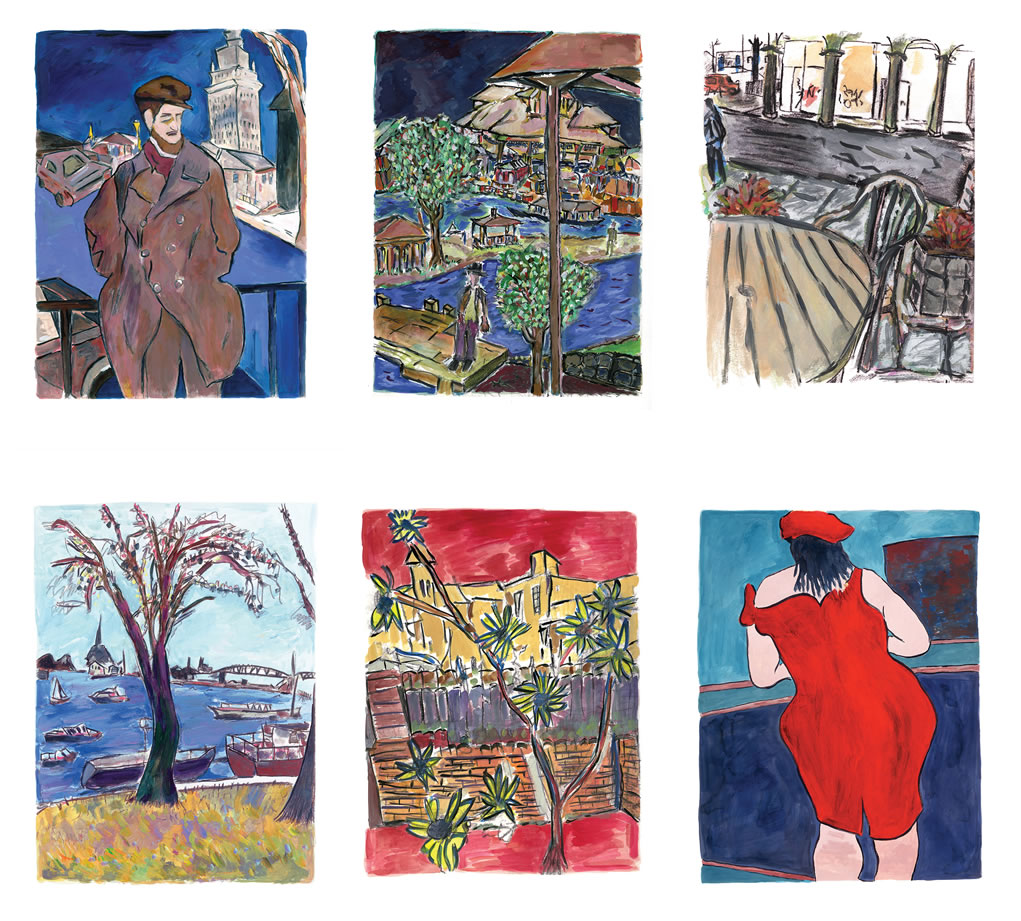 The Drawn Blank Series 2016 by Bob Dylan