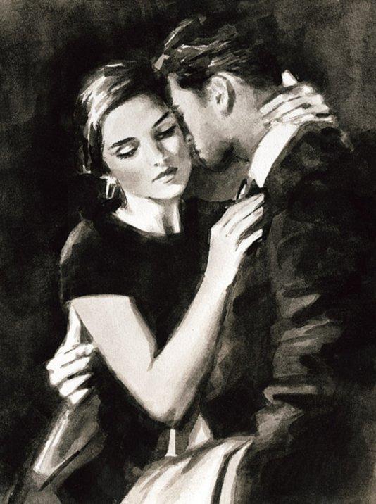 The Embrace VIII by Fabian Perez