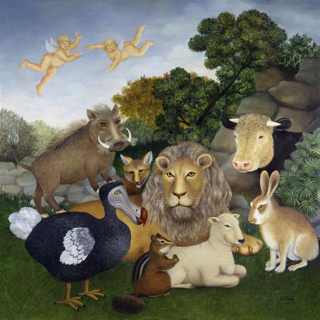 The Peaceable Kingdom by Beryl Cook