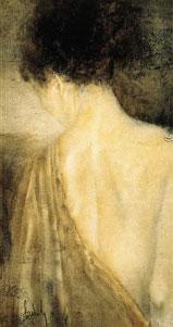 The Silk Robe - Canvas by Domenech