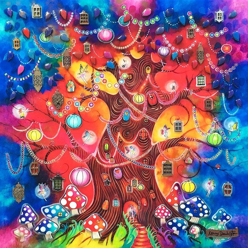 Tree of Light by Kerry Darlington