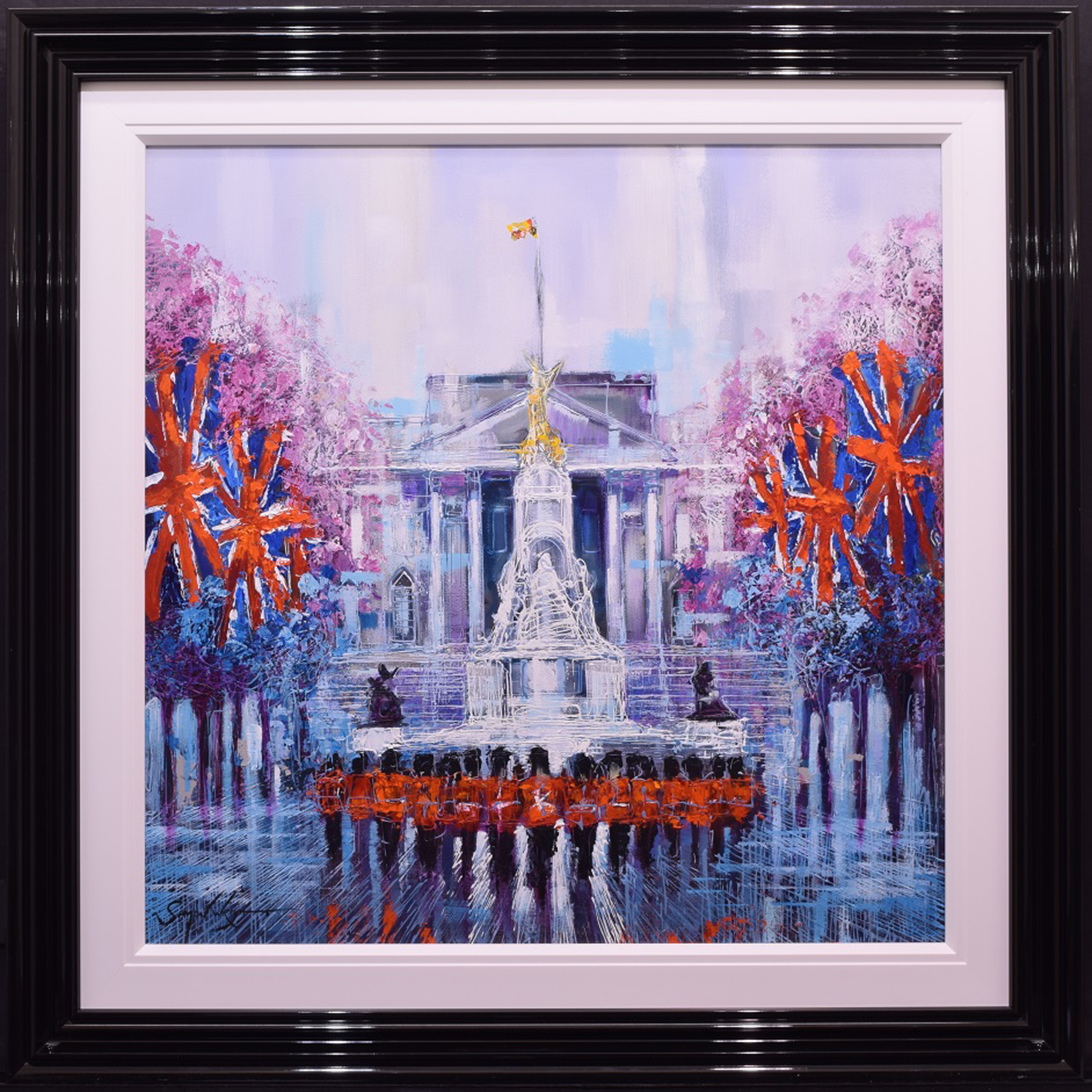 Trooping The Colour by Simon Wright