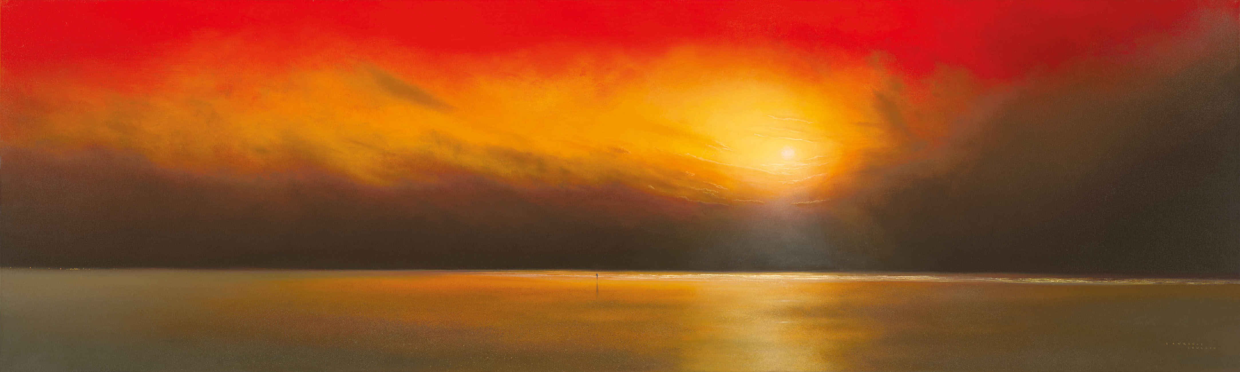 Underneath A Red Sky by Lawrence Coulson