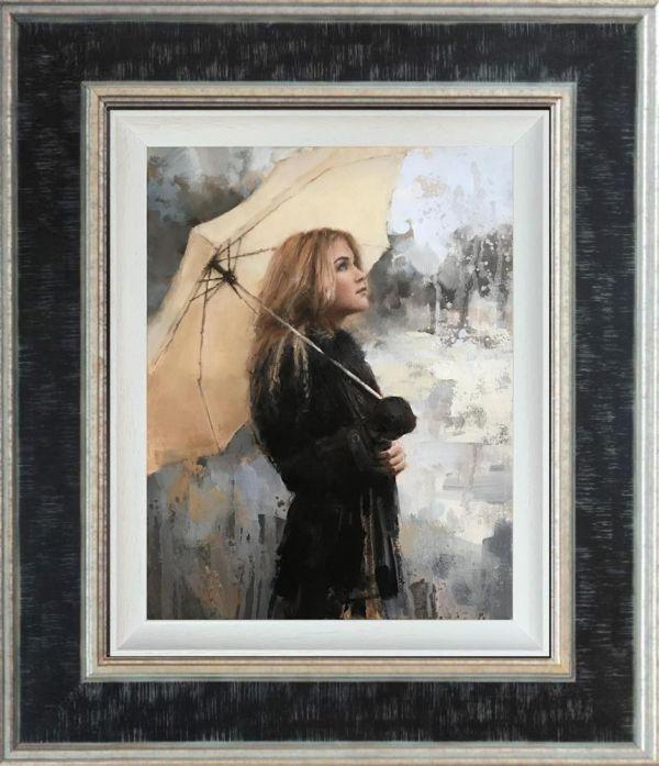Vanilla Snowdrop- Canvas by Tony Hinchcliffe