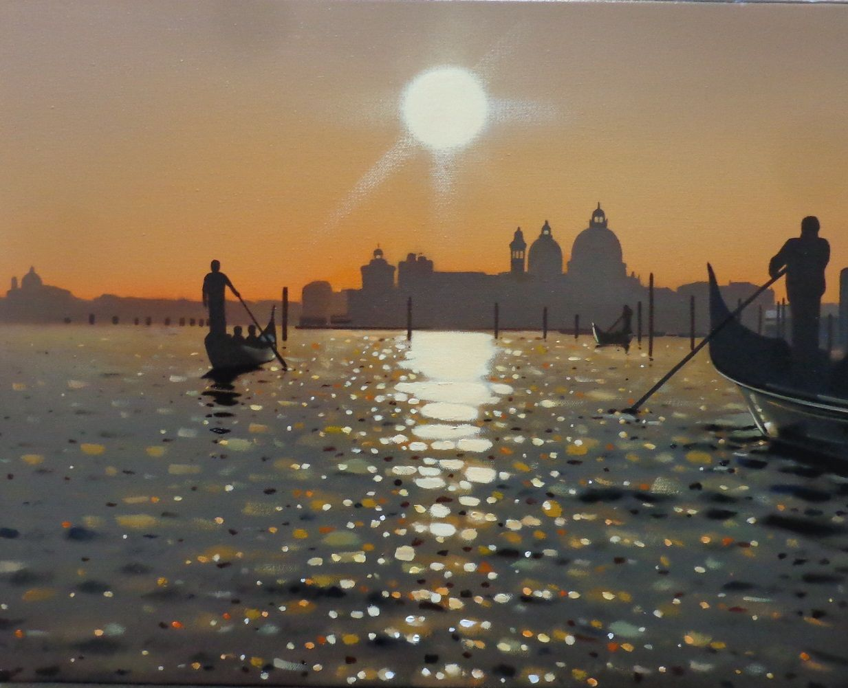 Venetian Sunset by Neil Dawson