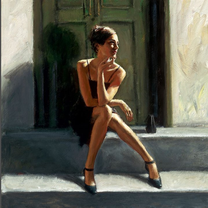 Waiting for the Romance to Come Back - Lucy by Fabian Perez